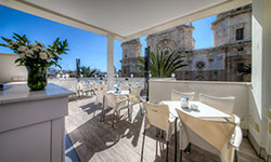 Superior Terrace of the Hotel La Catedral - Cadiz